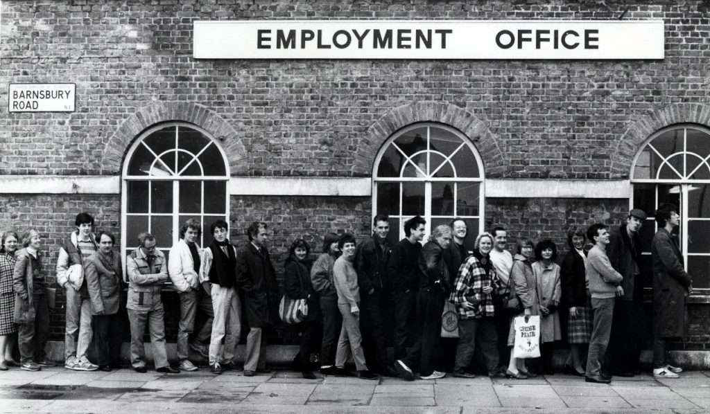 Kings Cross Employment Office, Barnsbury Road, 1980s © London Borough of Islington - Libraries